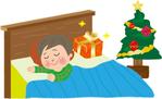 クリスマスの飾りつけ クリスマスのサンタクロースの役